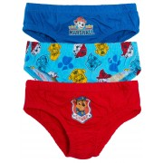 Boys Pack Of 3 Paw Patrol Briefs