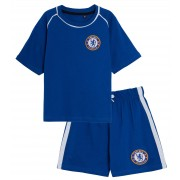 Kids Chelsea FC Short Pyjamas Boys Premiership Football Club Kit Shorts T-shirt