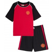 Kids Manchester United Short Pyjamas Boy Premiership Football Kit Shorts T-shirt
