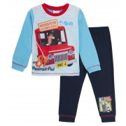 Kids Postman Pat Long Pyjamas Boys Girls Jess Full Length Pjs Nightwear Infants