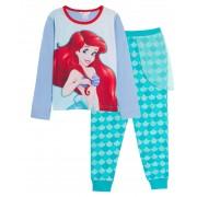 Girls Disney The Little Mermaid Dress Up Pyjamas Ariel Full Length Novelty Pjs