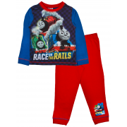 Thomas The Tank Engine Long Pyjamas - Race On The Rails
