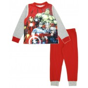 Avengers Long Pyjamas - Red / Grey