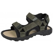 Boys Sports Sandals - Two Strap Green