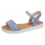 Girls Floral Sports Sandals - Purple