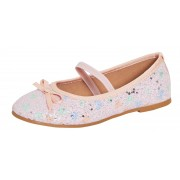 Girls Glitter Ballet Pumps