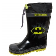 Boys Batman Tie Top Wellington Boots Kids DC Comics Snow Rain Shoes Wellies Size