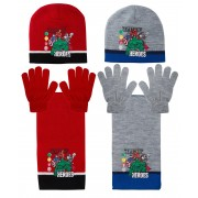 Marvel Avengers Hat, Glove And Scarf Set