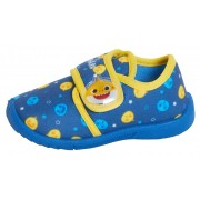 Boys Baby Shark Slippers - Blue