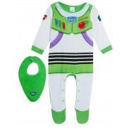 Baby Boys Buzz Lightyear Babygrow + Bandanna Outfit