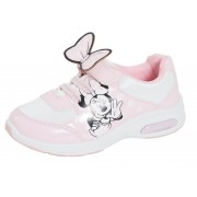 Girls Miinie Mouse Light Up Trainers - Pink