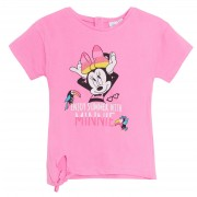 Baby Girls Minnie Mouse T-Shirt Toddlers Disney 100% Cotton Summer Top Tee Size