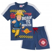 Fireman Sam Shorts + T-Shirt Set