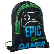 Boys Epic Gamer Drawstring Gymbag