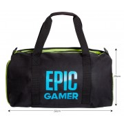 Epic Gamer Sports Holdall Adults Kids Duffle School Gym Bag Shoulder Straps