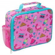 Girls Novelty Pink Lunch Bag