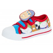 Boys Toy Story Canvas Pumps - Buzz and Woody