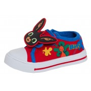 Boys Bing Canvas Pumps Kids Character Pumps 3D Easy Fasten Trainers Plimsolls