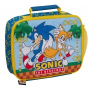 Sonic The Hedgehog Lunch Bag Sega Insulated Lunch Box for Kids School Cooler Bag