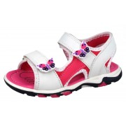 Girl's Butterfly Sandals - White