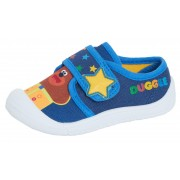 Boys Hey Duggee Canvas Pumps Kids Easy Fasten Flat Summer Trainers Age Size