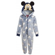 Kids Mickey Mouse Glow In The Dark All In One Disney Fleece Dress Up Sleepsuit