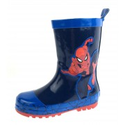 Spiderman Boys Rubber Wellington Boots - Jump