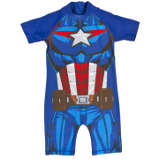 Captain America Sun Suit  Novelty