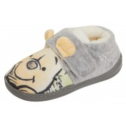 Disney Winnie The Pooh 3D Slippers Boys Girls Easy Fasten Novelty House Shoes