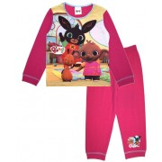 Girls Bing Bunny Long Pyjamas - Pink