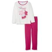 Girls Peppa Pig Long Pyjamas