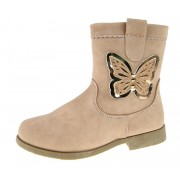 Cut Out Butterfly Mid Calf Boots
