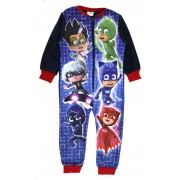 Boys PJ Masks Fleece Onesie - 6 Character