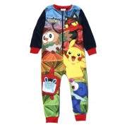 Boys Pokemon Fleece Onesie
