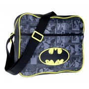 DC Comics Batman Messenger Bag  Comic Logo