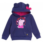 Girls Peppa Pig Hooded Top