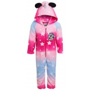 Girls Minnie Mouse Unicorn Dress Up All In One Disney Luxury Fleece Sleepsuit