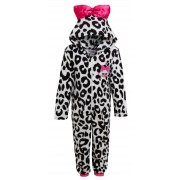 Girls LOL Surprise Dolls Dress Up All In One Kids Luxury Fleece Sleepsuit Pjs