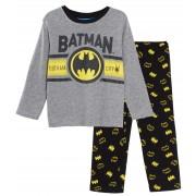 Boys Batman Pyjamas Kids DC Comics Full Length Pjs Super Hero Nightwear Set Size