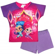 Shimmer & Shine Short Pyjama Set - Pink / Purple