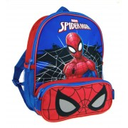 Marvel Spiderman Backpack  Bag + Pencil Case