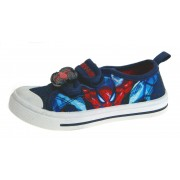 Spiderman Canvas Pumps - Navy