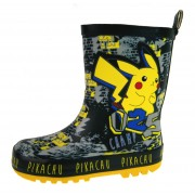 Pokemon Boys Pikachu Rubber Wellington Boots - Champ
