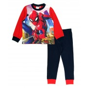 Spiderman Long Pyjamas - City Scene