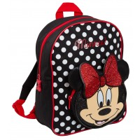 Minnie Mouse 3D Glitter Bow Backpack