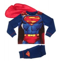 Kids Superman Dress Up Pyjamas