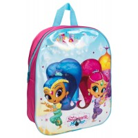 Shimmer and Shine Girls Light Up Backpack - Shimmer and Shine