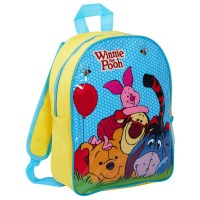 Disney Winnie the Pooh Nursery Mesh Side Pocket Backpack Lunch Bag