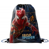 Marvel Iron Spider Drawstring Gym Bag