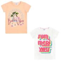 Girls 2 Pack Summer T-Shirts